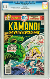 Kamandi, the Last Boy on Earth #39 (DC, 1976) CGC NM/MT 9.8 White pages