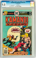Bronze Age (1970-1979):Science Fiction, Kamandi, the Last Boy on Earth #42 (DC, 1976) CGC NM/MT 9.8 Whitepages....