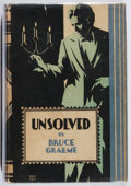 Books:Mystery & Detective Fiction, Bruce Graeme. Unsolved. Lippincott, 1932. First edition,first printing. Leaning. Rubbing and toning. Very good....