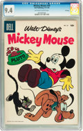 Golden Age (1938-1955):Funny Animal, Mickey Mouse #50 File Copy (Dell, 1956) CGC NM 9.4 Off-white towhite pages....
