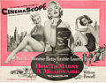 """Movie Posters:Comedy, The Seven Year Itch and Other Lot (20th Century Fox, 1953 and 1955 ). Uncut Pressbooks (2) (24 Pages and 28 Pages, 15"""" X 18""""... (Total: 2 Items)"""