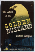 Books:Mystery & Detective Fiction, Clifford Knight. The Affair of the Golden Buzzard. McKay, 1946. First edition, first printing. Jacket with light fox...