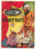 Golden Age (1938-1955):Classics Illustrated, Classic Comics #8 Arabian Nights - Original Edition (Gilberton,1943) Condition: GD/VG....
