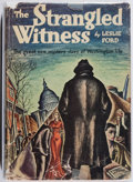 Books:Mystery & Detective Fiction, Leslie Ford. The Strangled Witness. Farrar & Rinehart, 1934. First edition, first printing. Owner's name. Jacket wor...