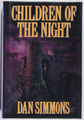 Books:Horror & Supernatural, [Jerry Weist]. Dan Simmons. SIGNED. Children of the Night. Putnam, 1992. First edition, first printing. Signed...