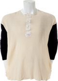Baseball Collectibles:Uniforms, 1950's Boston Red Sox Game Worn Undershirt Attributed to Ted Williams....