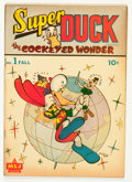Golden Age (1938-1955):Funny Animal, Super Duck #1 (MLJ, 1944) Condition: GD+....