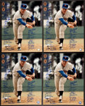 Baseball Collectibles:Photos, New York Mets Greats Multi Signed Tom Seaver Oversized PhotographsLot of 4....