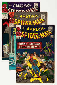 The Amazing Spider-Man Group (Marvel, 1963-71) Condition: Average Apparent FN/VF.... (Total: 48 Comic Books)
