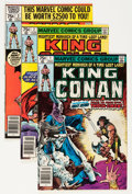 Modern Age (1980-Present):Science Fiction, King Conan/Conan the King Group (Marvel, 1980-89) Condition:Average VF/NM.... (Total: 57 Comic Books)