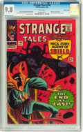 Silver Age (1956-1969):Science Fiction, Strange Tales #146 Pacific Coast pedigree (Marvel, 1966) CGC NM/MT 9.8 White pages....