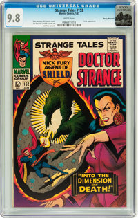 Strange Tales #152 Rocky Mountain pedigree (Marvel, 1967) CGC NM/MT 9.8 White pages