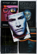Books:Science Fiction & Fantasy, [Jerry Weist]. William Gibson. Group of Five First Edition Books, Two Signed. Various, 1988-1999. All near fine or better.... (Total: 5 Items)