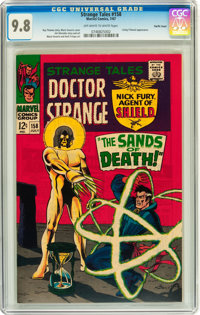 Strange Tales #158 Pacific Coast pedigree (Marvel, 1967) CGC NM/MT 9.8 Off-white to white pages