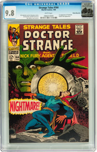 Strange Tales #164 Rocky Mountain pedigree (Marvel, 1968) CGC NM/MT 9.8 White pages