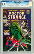 Silver Age (1956-1969):Superhero, Strange Tales #166 Northland pedigree (Marvel, 1968) CGC NM/MT 9.8White pages....
