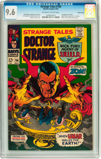 Strange Tales #156 Pacific Coast pedigree (Marvel, 1967) CGC NM+ 9.6 Off-white to white pages