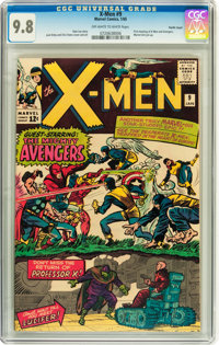 X-Men #9 Pacific Coast pedigree (Marvel, 1965) CGC NM/MT 9.8 Off-white to white pages