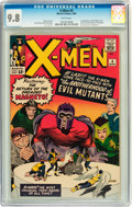 Silver Age (1956-1969):Superhero, X-Men #4 (Marvel, 1964) CGC NM/MT 9.8 White pages....