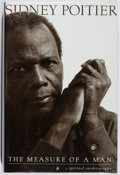 Books:Biography & Memoir, Sidney Poitier. INSCRIBED. The Measure of a Man. Harper, 2000. First edition, first printing. Signed and inscribed...