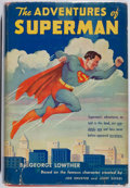 Books:Science Fiction & Fantasy, George Lowther. Superman. Random House, 1942. First edition,first printing. Signed by Noel Neill [Lois Lane] ...