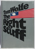 Books:Americana & American History, Tom Wolfe. The Right Stuff. Farrar Straus Giroux, 1979.First edition, first printing. Small stain to front board. L...