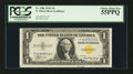 Small Size:World War II Emergency Notes, Fr. 2306 $1 1935A North Africa Silver Certificate. F-C Block. PCGS Choice About New 55PPQ.. ...