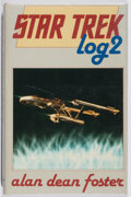 Books:Science Fiction & Fantasy, Alan Dean Foster. SIGNED. Star Trek: Log Two. Severn House, 1982. First British edition, first printing. Signed by...