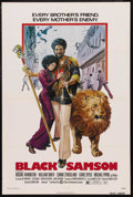 "Movie Posters:Action, Black Samson (Warner Brothers, 1974). One Sheet (27"" X 41""). Action. Starring Rockne Tarkington, William Smith, Connie Stric..."