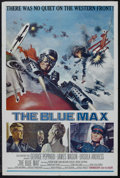 """Movie Posters:War, The Blue Max (20th Century Fox, 1966). One Sheet (27"""" X 41""""). War.Starring George Peppard, James Mason, Ursula Andress, Jer..."""