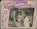 "Movie Posters:Black Films, Dirty Gertie from Harlem U.S.A. (Sack Amusement Enterprises, 1946).Lobby Card (11"" X 14""). Drama. Starring Francine Everett..."