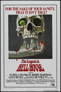 "The Legend Of Hell House (Twentieth Century Fox, 1973). One Sheet (27"" X 41""). Horror. Starring Pamela Frankli..."