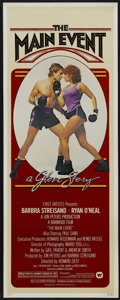 "Movie Posters:Sports, The Main Event (Warner Brothers, 1979). Insert (14"" X 36""). Sports Comedy. Directed by Howard Zieff. Starring Barbra Streisa..."