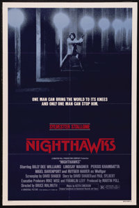 "Nighthawks (Universal, 1981). One Sheet (27"" X 41"") Style A. Action. Starring Sylvester Stallone, Billy Dee Wi..."