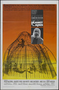 "Movie Posters:Science Fiction, Planet of the Apes (20th Century Fox, 1968). One Sheet (27"" X 41"").Sci-Fi. Starring Charlton Heston, Roddy McDowall, Kim Hu..."