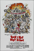 """Movie Posters:Comedy, Rock 'n' Roll High School (New World Pictures, 1979). One Sheet (27"""" X 41""""). Musical Comedy. Directed by Allan Arkush. Starr..."""