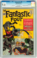 Silver Age (1956-1969):Superhero, Fantastic Four #2 White Mountain pedigree (Marvel, 1962) CGC NM+9.6 Off-white to white pages....