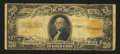 Large Size:Gold Certificates, Fr. 1187 $20 1922 Gold Certificate Good-Very Good.. ...