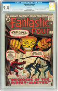 Silver Age (1956-1969):Superhero, Fantastic Four #8 Northland pedigree (Marvel, 1962) CGC NM 9.4White pages....