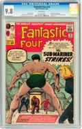 Silver Age (1956-1969):Superhero, Fantastic Four #14 (Marvel, 1963) CGC NM/MT 9.8 White pages....
