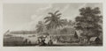 Books:Prints & Leaves, [Copper Engraving] [Cook's Voyages]. The Natche, a Ceremony.London, ca. 1784. From The Three Voyages of Captain C...