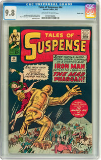 Tales of Suspense #44 Pacific Coast pedigree (Marvel, 1963) CGC NM/MT 9.8 Off-white to white pages
