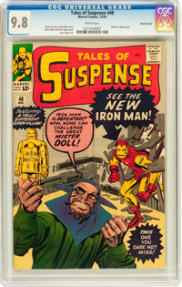 Tales of Suspense #48 Pacific Coast pedigree (Marvel, 1963) CGC NM/MT 9.8 White pages