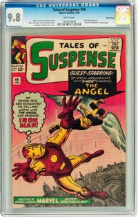 Tales of Suspense #49 Pacific Coast pedigree (Marvel, 1964) CGC NM/MT 9.8 White pages