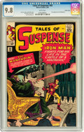 Silver Age (1956-1969):Superhero, Tales of Suspense #50 Pacific Coast pedigree (Marvel, 1964) CGC NM/MT 9.8 White pages....