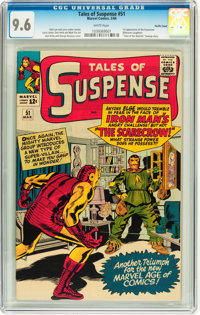 Tales of Suspense #51 Pacific Coast pedigree (Marvel, 1964) CGC NM+ 9.6 White pages