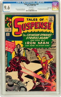 Tales of Suspense #52 Pacific Coast pedigree (Marvel, 1964) CGC NM+ 9.6 White pages