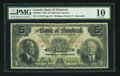 Canadian Currency: , Montreal, QC - The Bank of Montreal $5 Jan, 2, 1923 Ch 505-56-02. ...