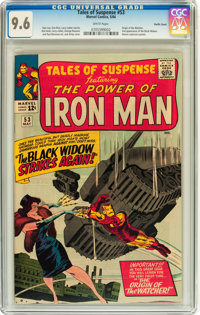 Tales of Suspense #53 Pacific Coast pedigree (Marvel, 1964) CGC NM+ 9.6 White pages