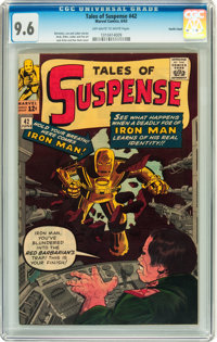 Tales of Suspense #42 Pacific Coast pedigree (Marvel, 1963) CGC NM+ 9.6 Off-white to white pages